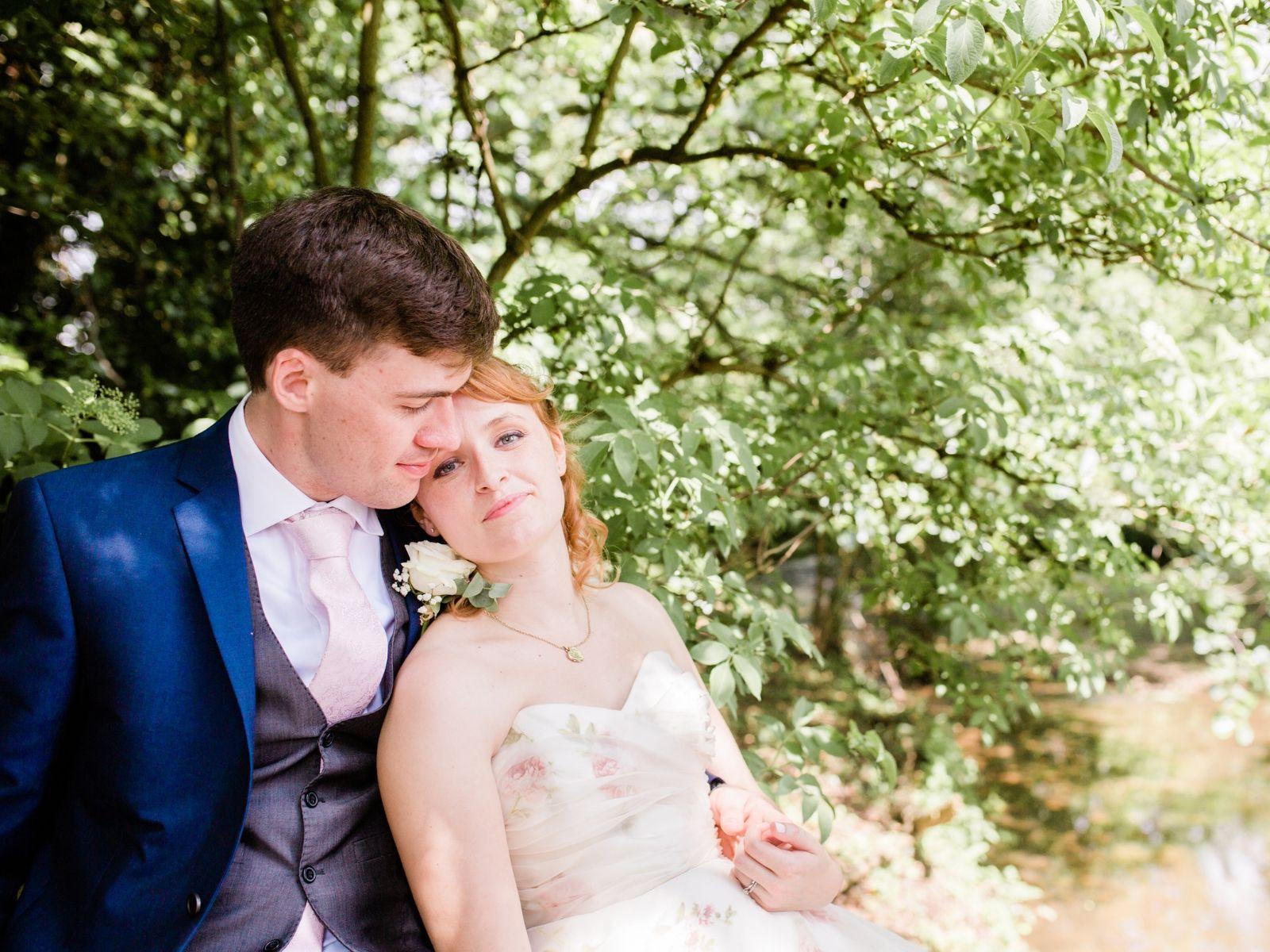 Real bride Alice and husband James wedding photography